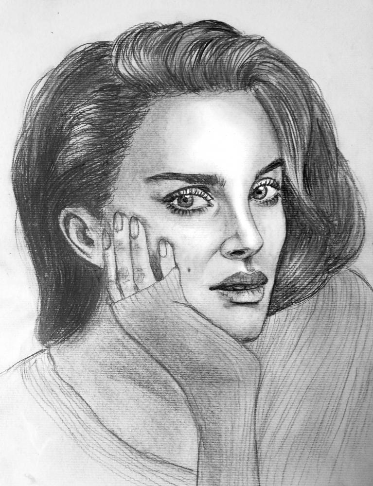 Natalie Portman par Tamzine